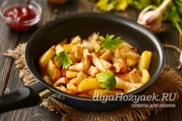 картошка на сале