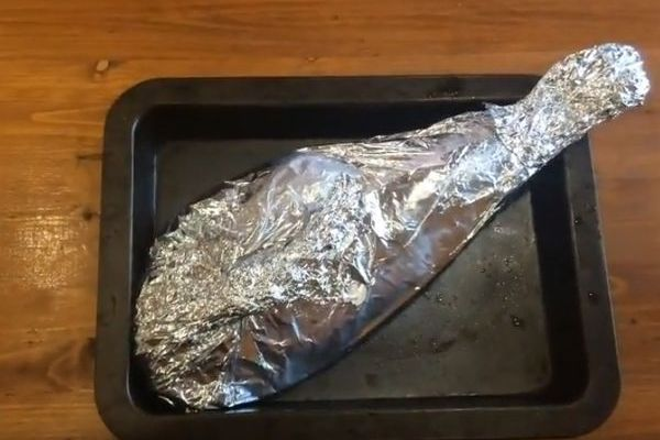 Баранья нога запеченная в духовке - как приготовить баранью ногу в фольге, пошаговый рецепт с фото
