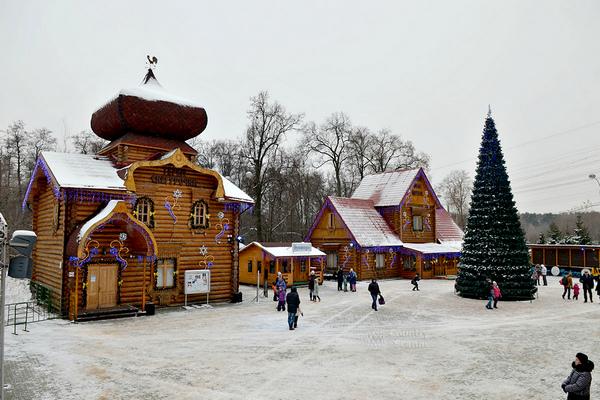 Московская усадьба Деда Мороза