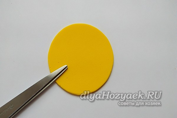 круг из фоамирана